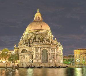 Basiliek Santa Maria della Salute Venetie van Rens Marskamp