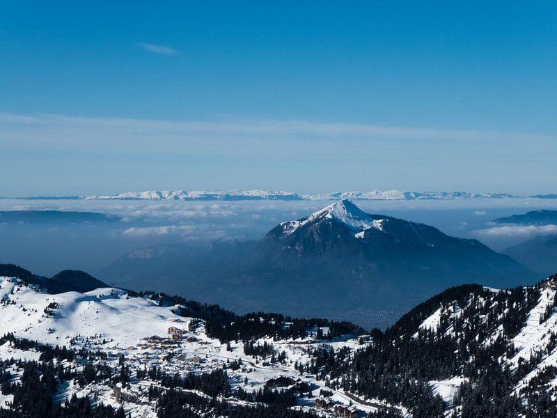 Boven de wolken van Stephan Trip