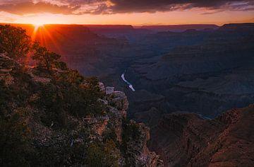Mohave Sonnenuntergang von Joris Pannemans - Loris Photography