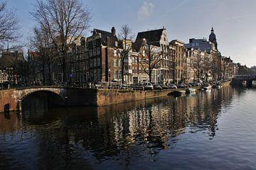 Aan de Amsterdamse grachten sur Pamela Fritschij
