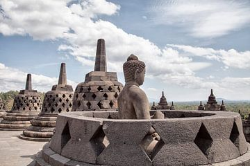 De Borobudur sur Dries van Assen