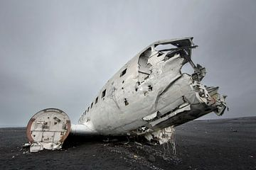 Vliegtuigwrak van