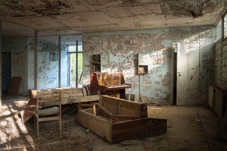 Verlaten Piano Winkel.