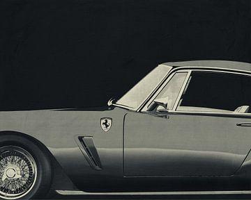 Ferrari 250 GT SWB Berlinetta 1957 B&W