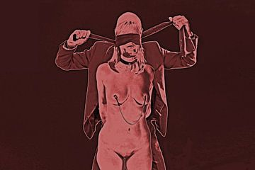 BDSM Sessie 3 van Vincent van Thom