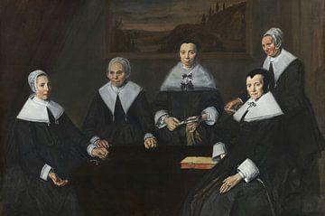 Regentinnen des Alten Männer-Almenhauses, Frans Hals