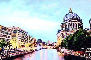 Berliner Kathedrale von Saskia Ben Jemaa