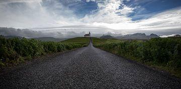 Kerk landschap von Jip van Bodegom