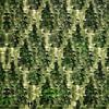 Bos uit één boom (woud met twee wandelaars) van Ruben van Gogh thumbnail