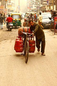 In de straten van India van Vivian Raaijmaakers