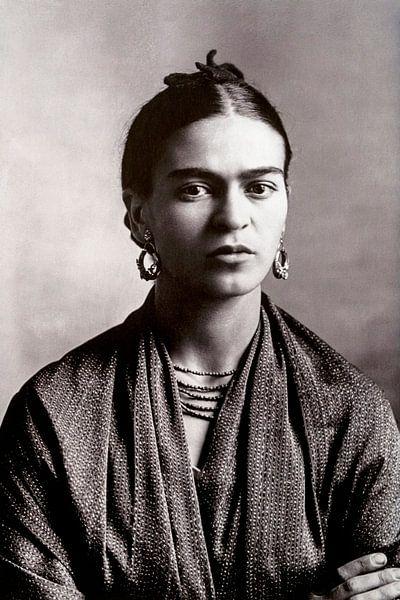 Portrait de Frida Kahlo, 1932 sur Bridgeman Images