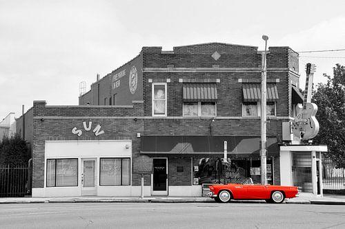 Sun Studio in Memphis van