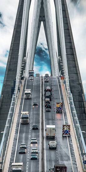 Pont de Normandie van Harrie Muis