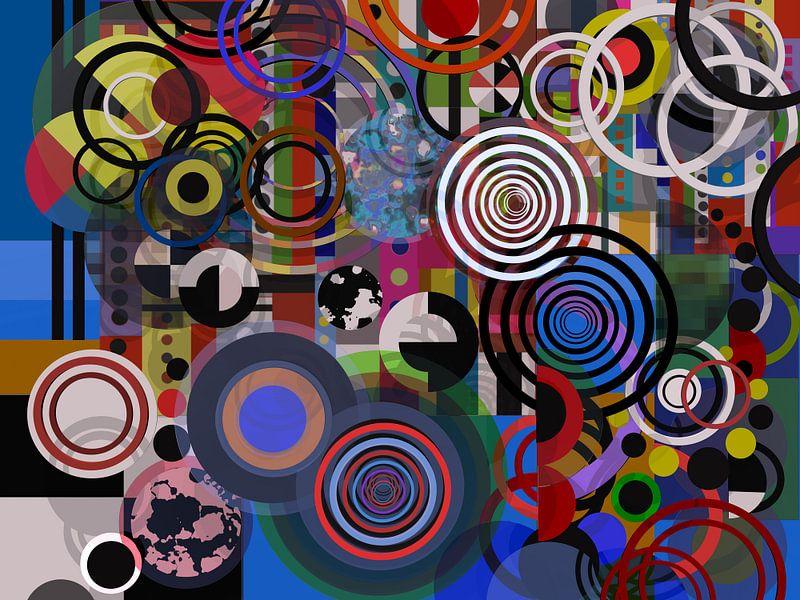 Composition abstraite 129 van Angel Estevez
