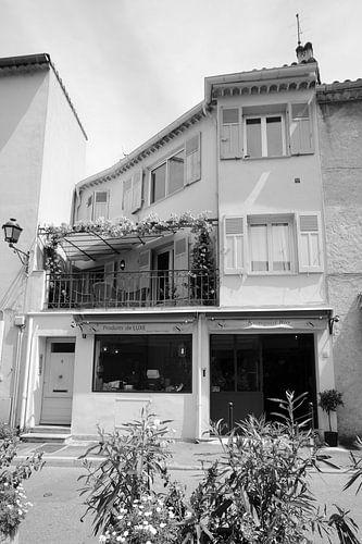 Typische zuiderse stadswoning in Saint-Tropez