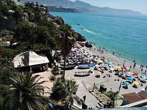 Het strand in Spanje