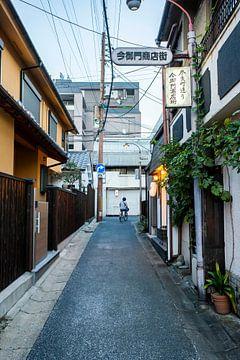 Japanische Straße (Nara, Japan) von Jeffrey Schaefer