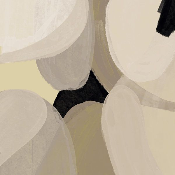 Modern abstract -laetitia van YOPIE illustraties