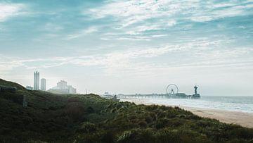 Scheveningen skyline van Jan Willem De Vos
