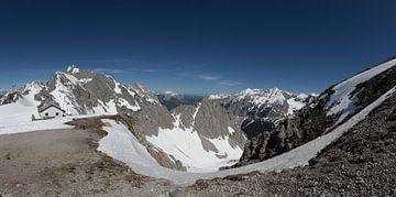 Blick über die Berge in Österreich von annick caluwe