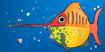 Fische im Wasser von Nicole Roozendaal