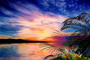 Paysage Tropical sur Angel Estevez
