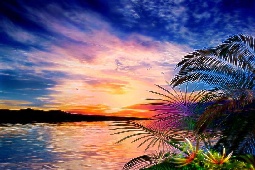 Paysage Tropical van Angel Estevez