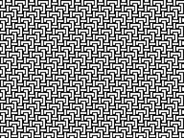 Permutatie | ID=12 | V=06 | 4:3 | 32x24 van Gerhard Haberern