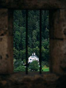 Blick aus dem Schlossfenster von Rianne Jacobs