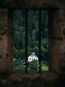 Uitzicht vanuit het kasteel raam van Rianne Jacobs