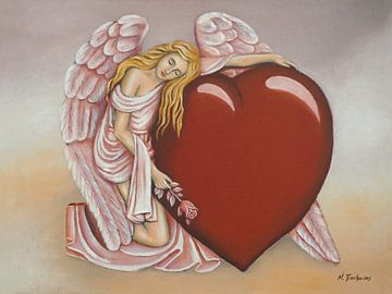 Engel der Ewigkeit - Engelkunst von Marita Zacharias