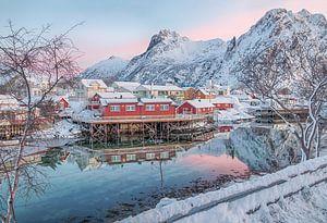 Svolvaer Noorwegen van Riccardo van Iersel