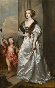Lady Mary Villiers mit Charles Hamilton, Antoon van Dyck