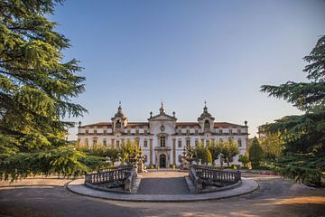 Kasteel van Coimbra Portugal von Omri Raviv
