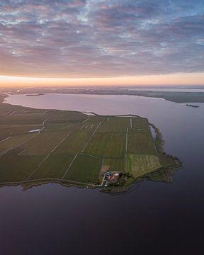 Het Friese landschap 1 ! van Ewold Kooistra