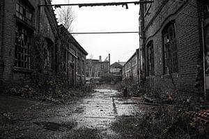 Verlassene Kristallfabrik