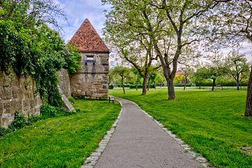 Parkanlage Rothenburg ob der Tauber von Roith Fotografie