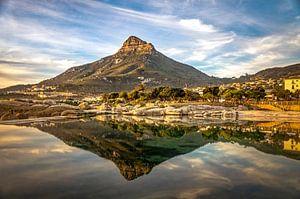 Zonsondergang Tafelberg Kaapstad