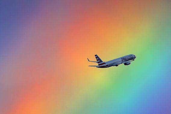 Regenboog Boeing