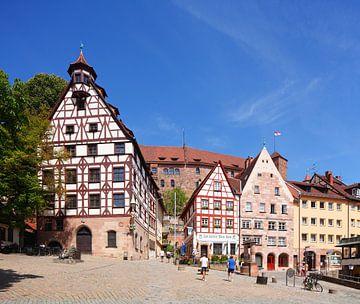 Platz am Tiergärtnertor, Nürnberg, Bayern, Deutschland, Europa von Torsten Krüger