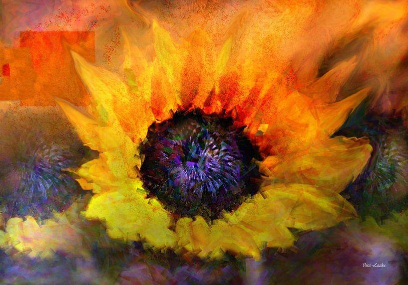 Sunflower in Art van Vera Laake