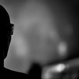 Joe Satriani Silhouette van Don Fonzarelli