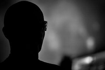 Joe Satriani Silhouette von Don Fonzarelli