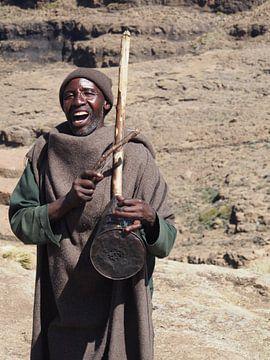 Zingende Herder, Lesotho van Marleen Berendse