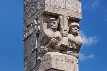 Westerplatte Monument Gdansk van Gunter Kirsch