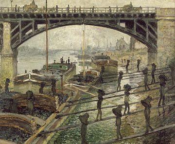 Die Kohlenträger, Claude Monet
