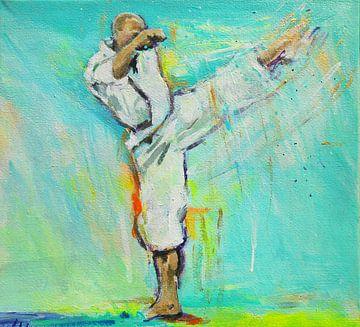 Karate - Gertjan sensei von Lucia Hoogervorst