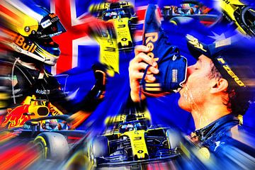 Daniel Ricciardo - De Australische van Jean-Louis Glineur alias DeVerviers