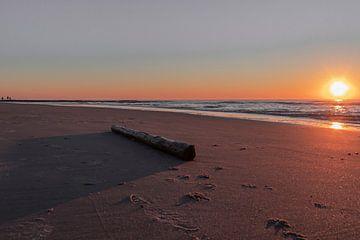 Sonnenuntergang in callantsoog von Paul Veen