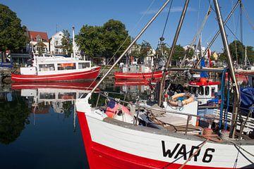 Rostock-Warnemuende : Fischerboote  am Alten Strom von Torsten Krüger